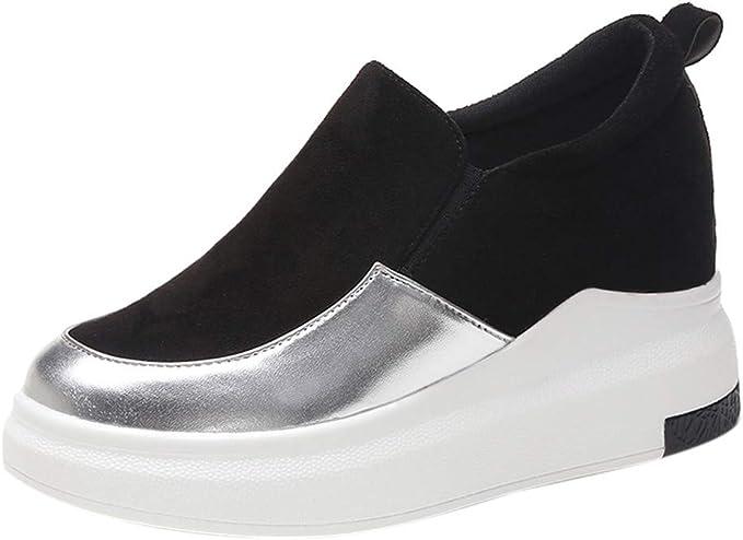 Slip On Sneakers for Women WEUIE Snakeskin Walking Shoes Comfort Loafers Lightweight Flats