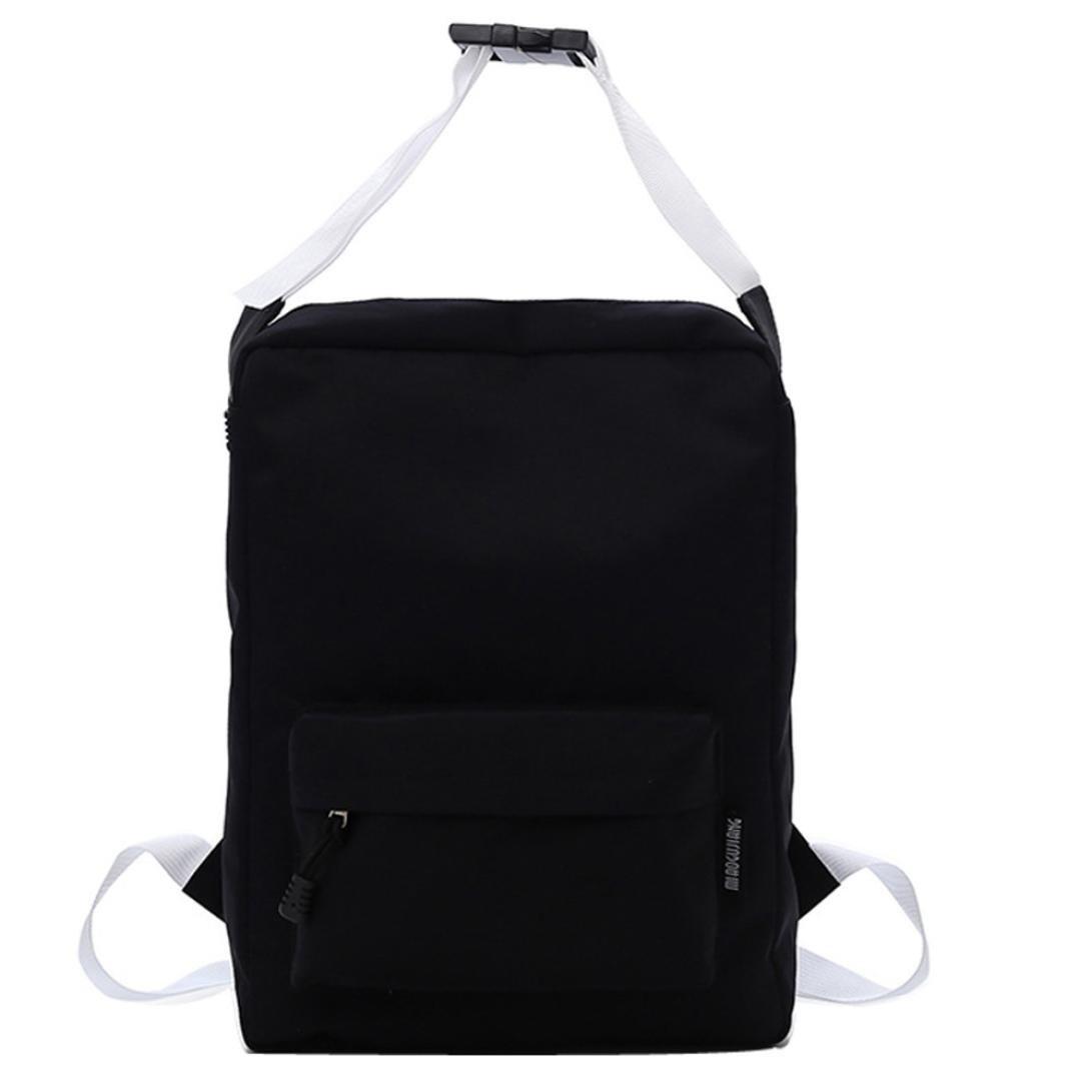 Stylish Doctor Style Multipurpose School Travel Backpack Daypack for Men Women (Black)
