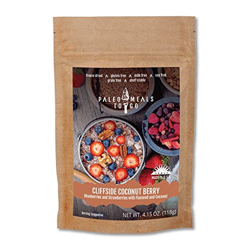 Price comparison product image Cliffside Coconut Berry Gluten Free,  Freeze Dried,  Paleo Meal for Backpacking and Camping
