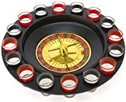 Drinking Game Glass Roulette - Drinking Game Set (2 Balls and 16 Glasses) Casino Style Drinking Game - by Bo T