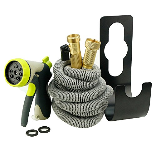All new 2017 design Arka Garden kit. Premium quality expandable hose with all brass connectors,8 way metal spray nozzle, metal hanger, carrying bag by Arka Garden