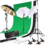 Photo Master 600W 5500K Photography Background Support System Continuous Lighting Kit For Photo Studio Product, Portfolio and Video Shooting Photography Studio