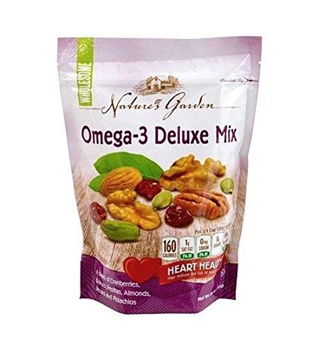 Thin Deluxe - Nature's Garden Omega-3 Deluxe Nut Mix, 26 ounce (Pack of 1)