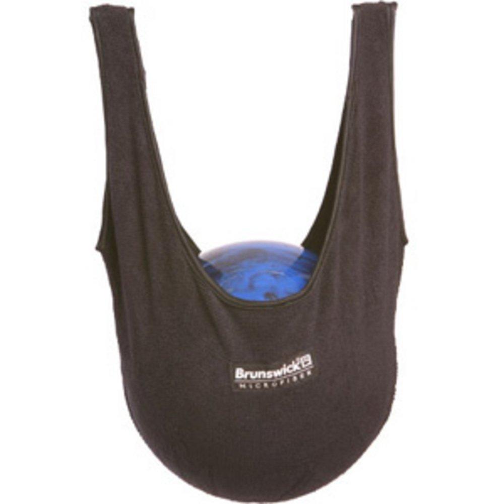 Brunswick Sac microfibre pour bowling Noir/bleu marine 860312