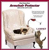 LAMINET-ArmchairRecliner-Cover--Clear