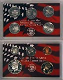 2002 S Silver Proof Set in Original US Government Packaging