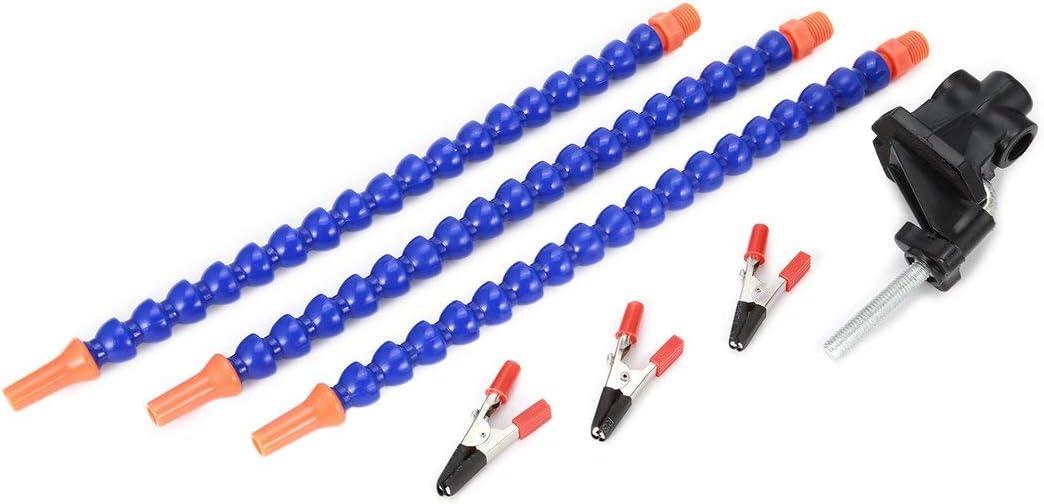 Helping Hands Seltsam Arme L/öten Reparatur Montage Schwei/ßen Werkzeuge Schraubstock Tischklammer-Station 3pcs Flexible Drehbare /& Farbe: blau