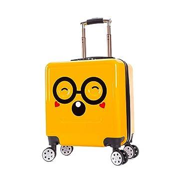 Amazon.com: GYBY - Maleta con ruedas para niños, de plástico ...