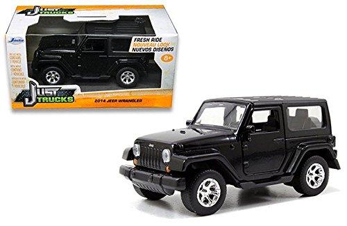 New 1:32 W/B Just Trucks - 2014 Jeep Wrangler Diecast Model Car By Jada Toys