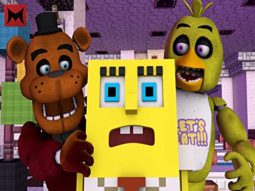 Clip: Sponge Goes into Five Nights at Freddy's (Alvin And The Chipmunks Games To Play)
