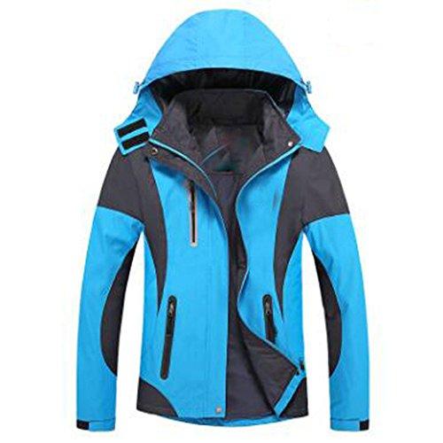 Outdoor Sottile Softshell New Antivento Spring Blue Con Antipioggia Slim Large Giacche Women Cappuccio qaxRPE
