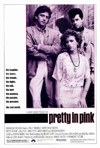 Pretty in Pink POSTER Movie (27 x 40 Inches - 69cm x 102cm) (1986)