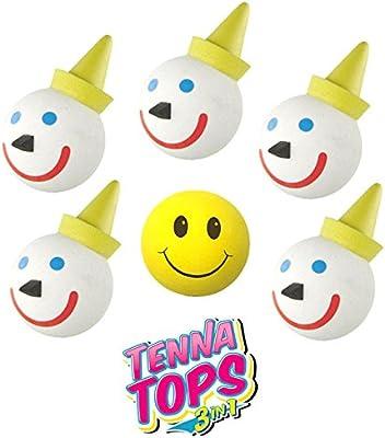 Jack In The Box 5 pcs Original Antenna Ball/Antenna Topper + Free Yellow  Smiley Antenna Topper