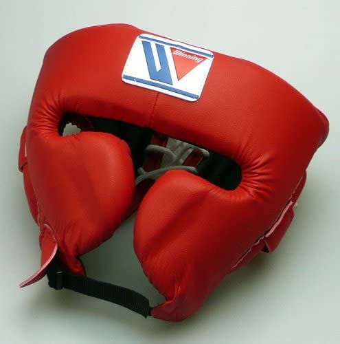 Winning Head Gear FG-2900 Face Guard Type Boxing Red//Black//Blue//White M//L Japan