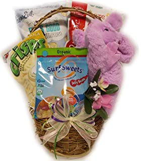 College student healthy easter basket by well baskets amazon easter goodies healthy easter basket negle Gallery