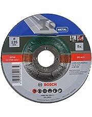 Bosch 2 609 256 332 - Juego de discos de tronzar, acodado para metal