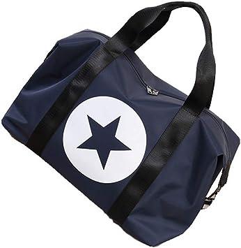 Unisex Waterproof Weekender Overnight Travel Bag Star Soft Flight Bag for Men Women Gym Sports Duffel Tote Bag Luggage Holdall Bags Handbag Shoulder Bags Lightweight Carry-on Under Seat Tote Travel