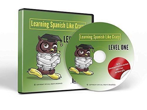 Learning Spanish Like Crazy Level 1 CDR - w/ Super Bonus Package - Learn Spanish & Speak Spanish - New & Improved for PC/Mac - Free Updates for 1 Yr (Visual Link Spanish Level 1 compare prices)