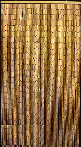 High Quality Master Garden Products Natural Beaded Bamboo Curtain, 36 By 78 Inch