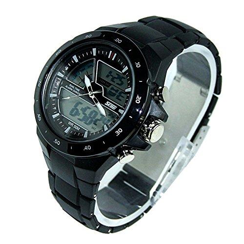 Amazon.com: SKMEI 1016 New Sports Watch Silicone 50M water ...