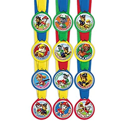 Paw Patrol Mini Award Medals, 12 per package: Toys & Games