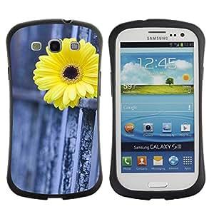Suave TPU GEL Carcasa Funda Silicona Blando Estuche Caso de protección (para) Samsung Galaxy S3 I9300 / CECELL Phone case / / Daisy Fence Metaphor Deep Meaning /