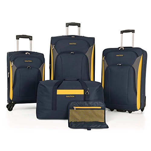 Nautica 5 Piece Luggage