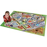 House Of Kids - 11220-e3 - Quadri - Tapis De Jeu - District Connect - 100 X 150 Cm