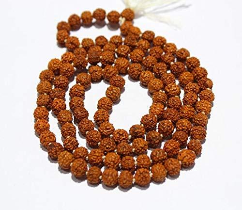 Jewel Beads Gems-Jewellery 5 Strand Rudraksha mala 109 ...
