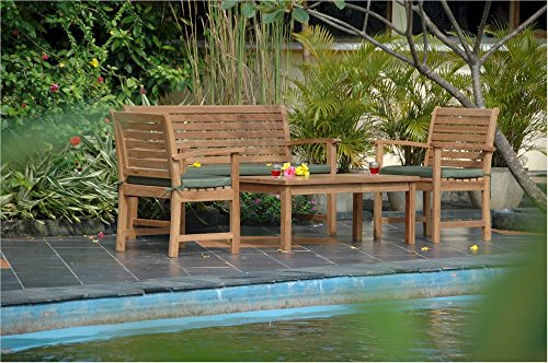 Anderson Teak Victoria Montage Collection Outdoor Furniture Set Without ()