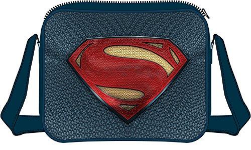 Borsa Batman v Superman Dawn of Justice Shoulder Bag Superman Logo CODI