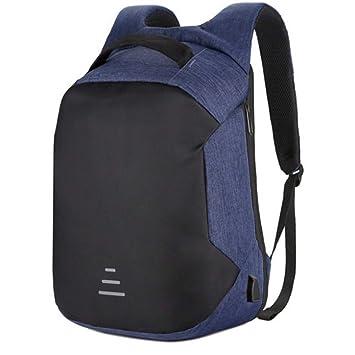 LETAMG MOCHILAS Mochila de Viaje Multifuncional 15.6 Bolsa de Seguridad Bolsa de Seguridad USB Bolsa de Escuela Recargable Impermeable Mochila de Viaje, ...