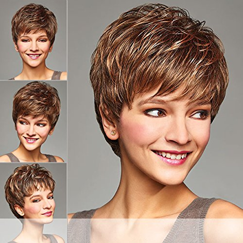 AMBER (Henry Margu) - Synthetic Full Wig in 4GR (Amber Wig)