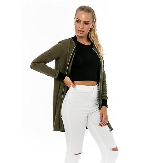 72fa9097403 Amazon.com  Women Coats Winter Clearance Plus Size HN Long Blazer ...