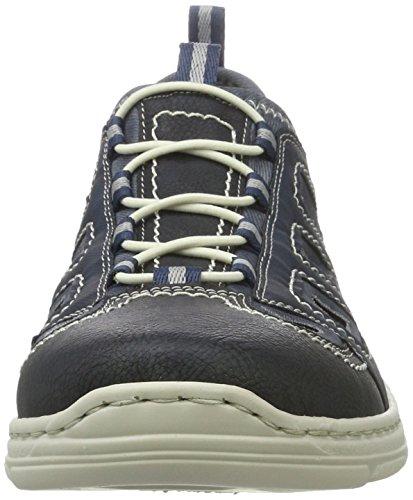 Rieker 15285, Zapatillas para Hombre Azul (Ozean/pazifik/denim / 14)