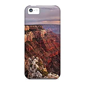 LJF phone case Flexible Tpu Back Case Cover For ipod touch 4 - Gr Canyons