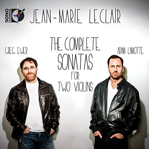 Leclair: Complete Sonatas for 2 Violins (1 Blu Ray Audio & 2 Standard CDs) ()