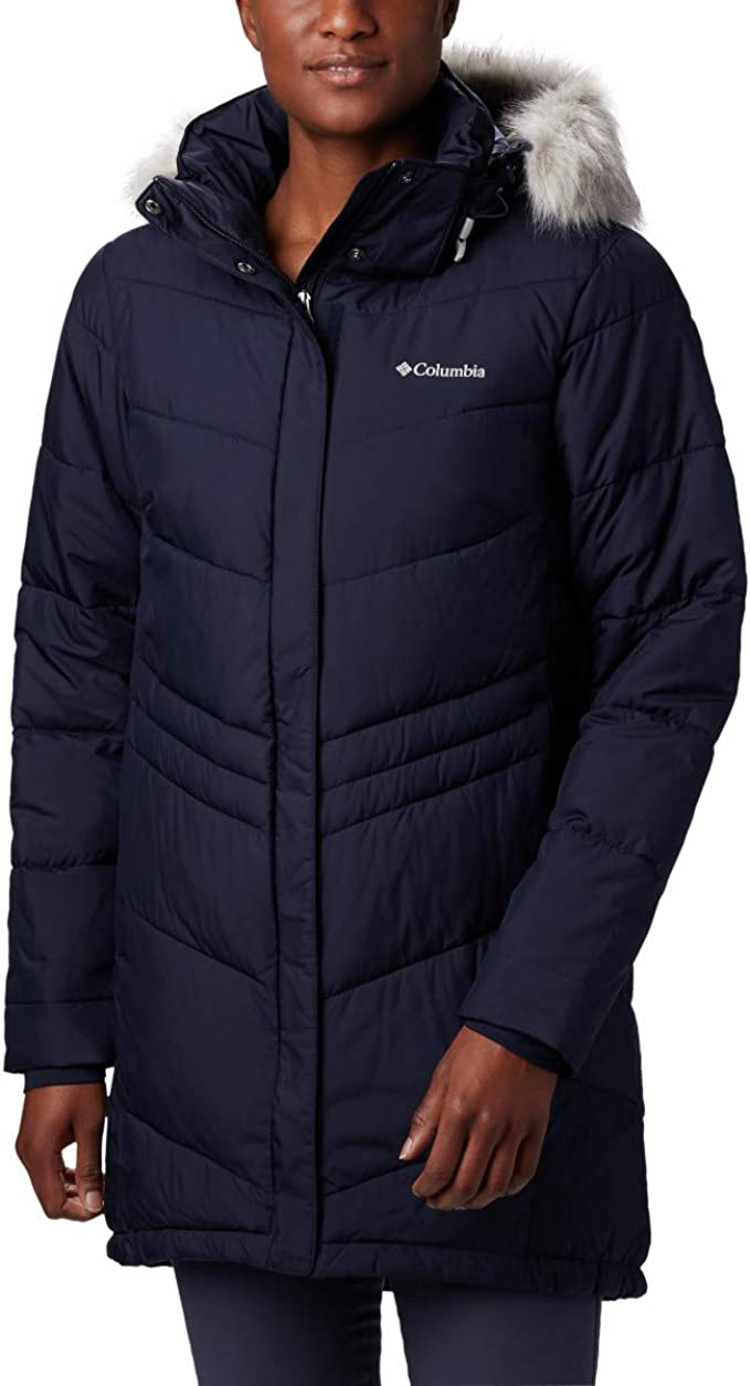 Columbia 哥伦比亚 Peak to Park 防水 中长款女式连帽保暖棉服夹克 1.5折$26.96 海淘转运到手约¥281