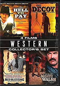 Western Collectors Set: Hell to pay / The Decoy / Ned Blessing / Monte Walsh