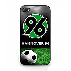 Iphone 4/4s Case Fashionable Hannover 1896 FC Phone Case Cover For Iphone 4/4s Unique Hannover 1896 FC Logo Case