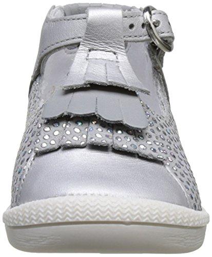 babybotte Papate - Zapatos de primeros pasos Bebé-Niños gris