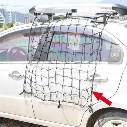 Nice Car Roof Rack Cover Network Luggage Carrier Cargo Basket Elasticated Net