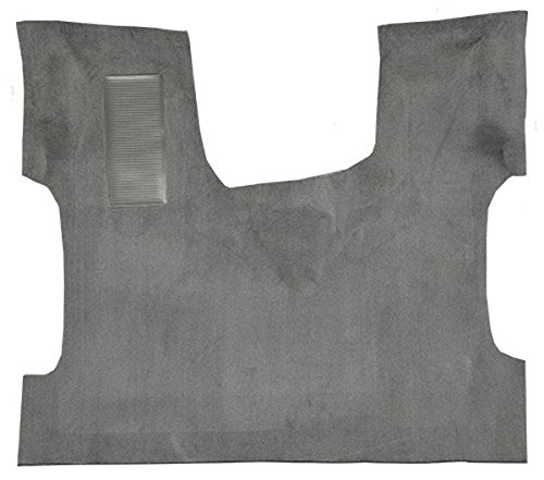 (1992 to 1999 Ford Econoline Van Carpet Custom Molded Replacement Kit, Front Passenger Area Only (897-Charcoal Plush Cut Pile))