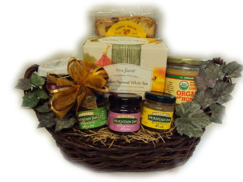 Tealightful Healthy Gift Basket by Well Baskets