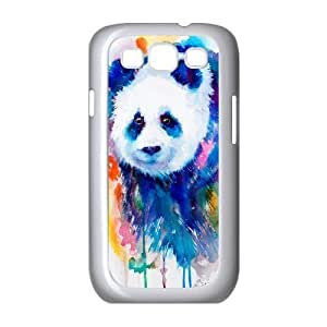 Custom Colorful Case for Samsung Galaxy S3 I9300, Panda Cover Case - HL-R654856