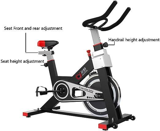 Bicicleta ciclismo interior, manillar ajustable, resistencia del ...