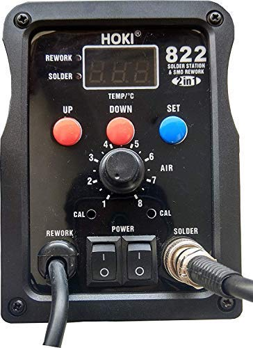 OSFT 822 ESD SAFE 2-in-1 SMD Rework Station 700W Soldering-Station 50W with Soldering Rod | Variable Temperature and SMD Price & Reviews