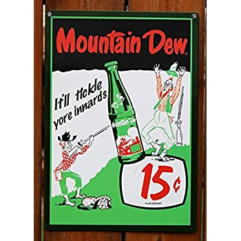 Dating old mountain dew bottles value