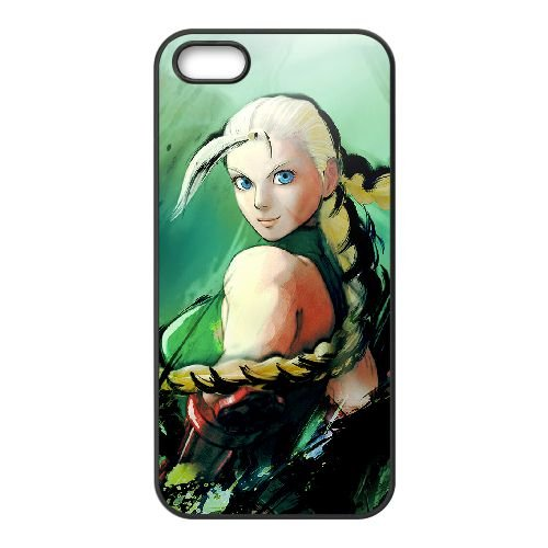 Street Fighter Iv 4 coque iPhone 4 4s cellulaire cas coque de téléphone cas téléphone cellulaire noir couvercle EEECBCAAN02510