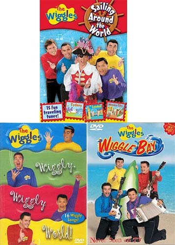 The Wiggles - Wiggle bay/Sailing Around The World/Wiggly Wiggly World (3 ()
